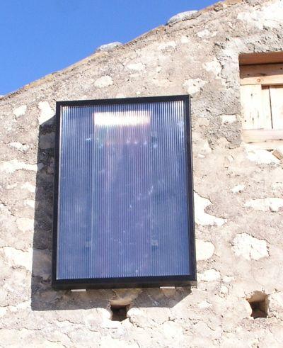 Pannello solare ad aria calda -
